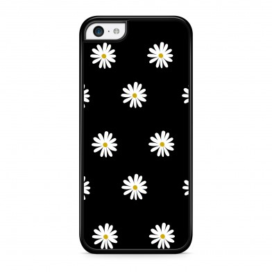 Coque iPhone 5/5s/SE Little Marguerite Noir