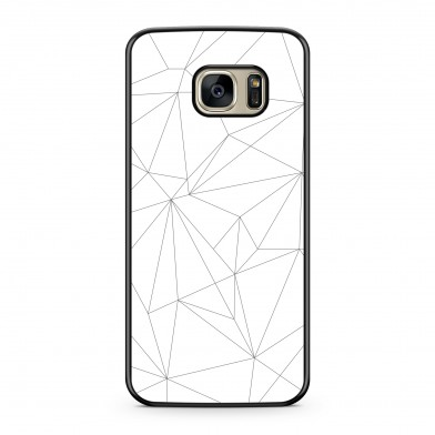Coque iPhone 5/5s/SE Graphic Lines Noir