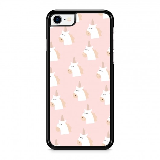 Coque iPhone 7 Licorne Cute Rose