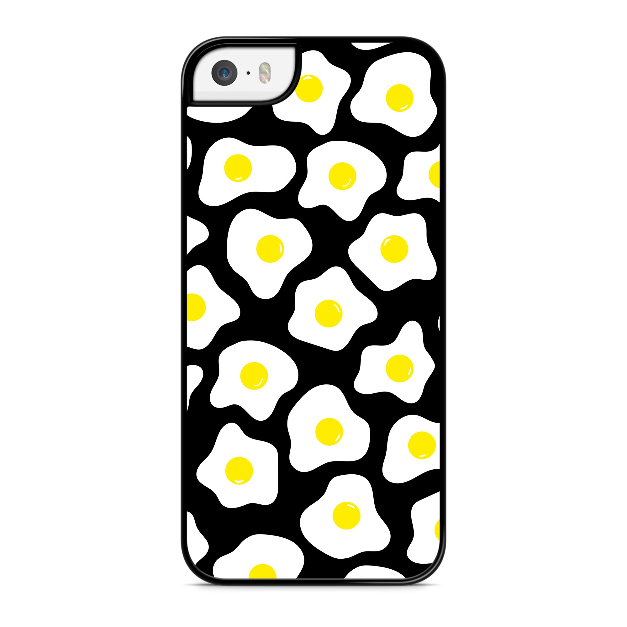 Coque Little Eggs Jaune Noir