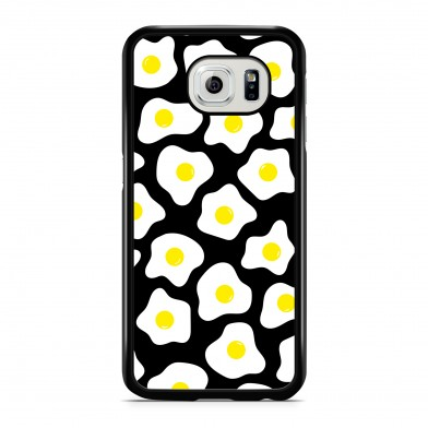 Coque iPhone 5/5s/SE Little Eggs Jaune Noir