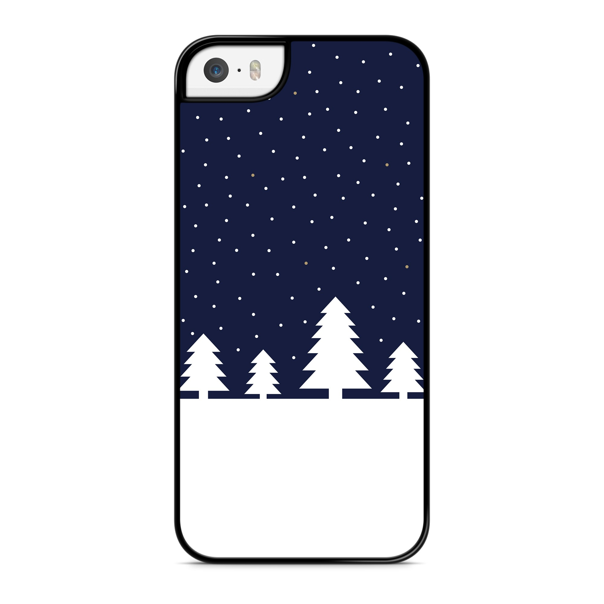 Coque Snow & Trees Bleu
