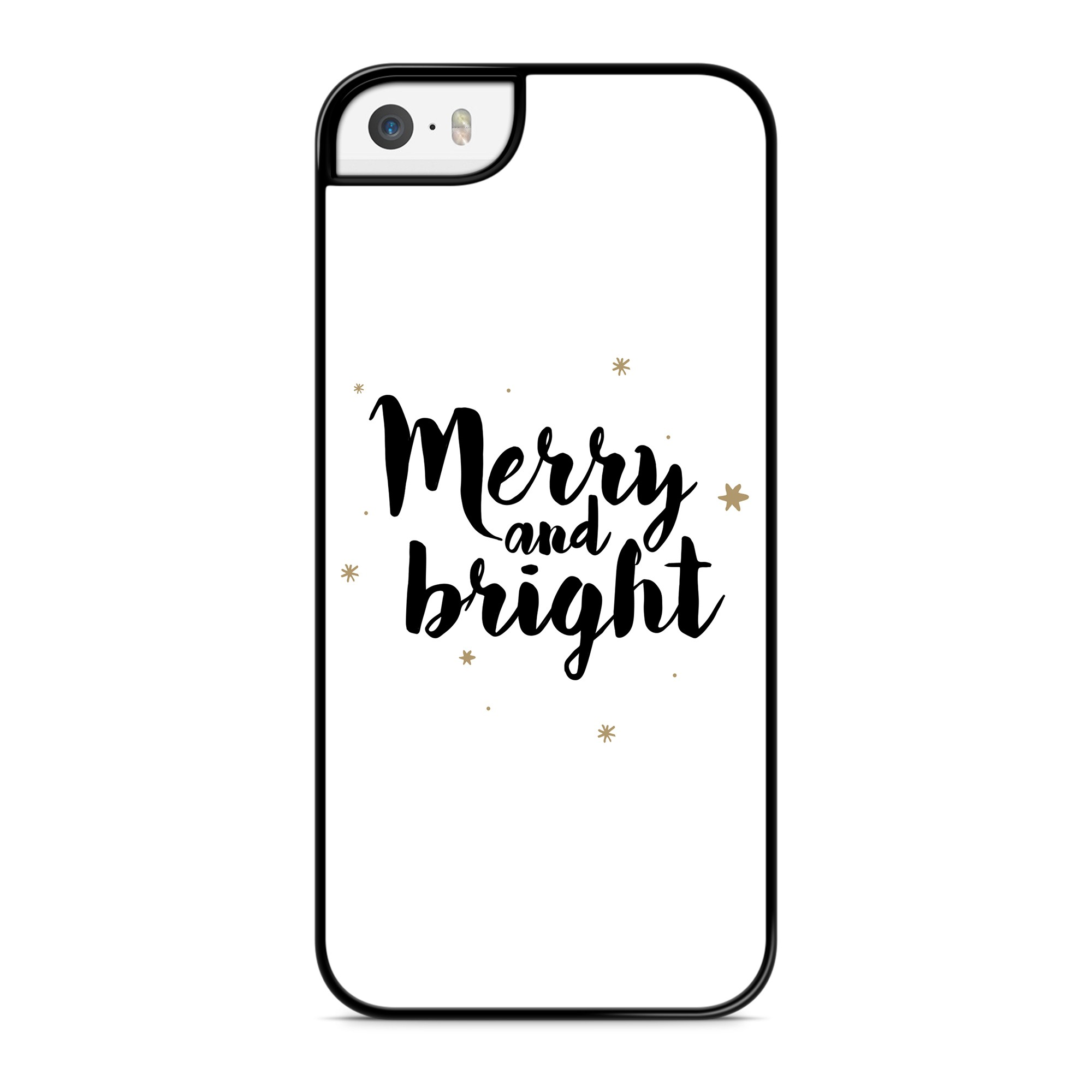 Coque Merry and Bright Noir