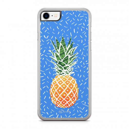 Coque iPhone 7 Sweet Ananas Bleu