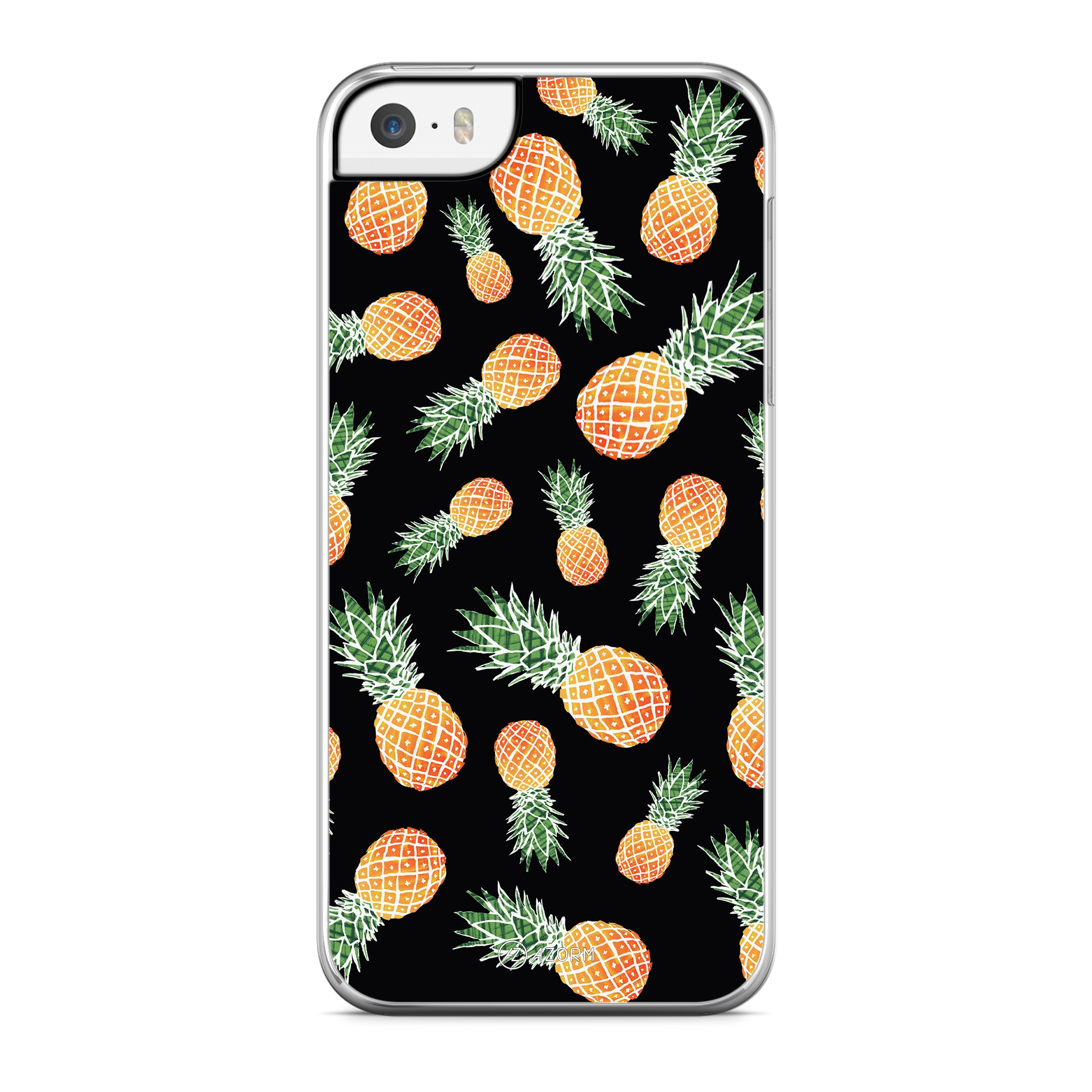 Coque Sweet Little Ananas Noir