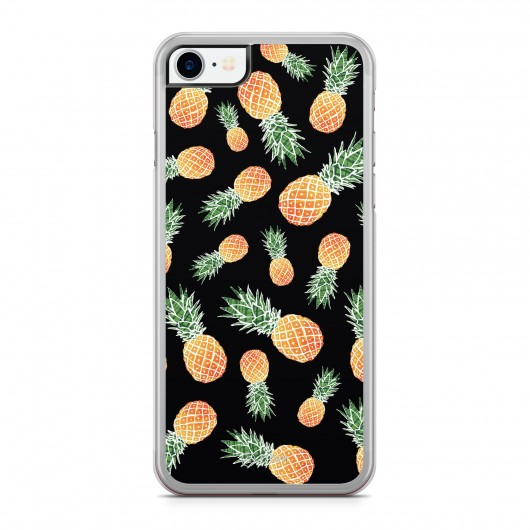 Coque iPhone 7 Sweet Little Ananas Noir