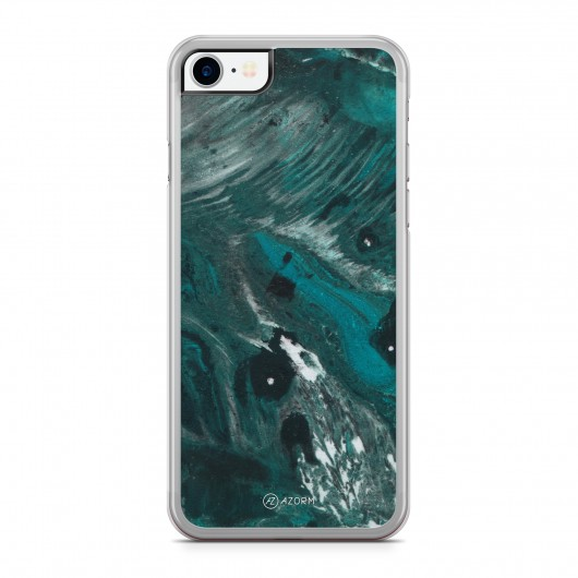 Coque iPhone 7 Marbre Exotic Vert