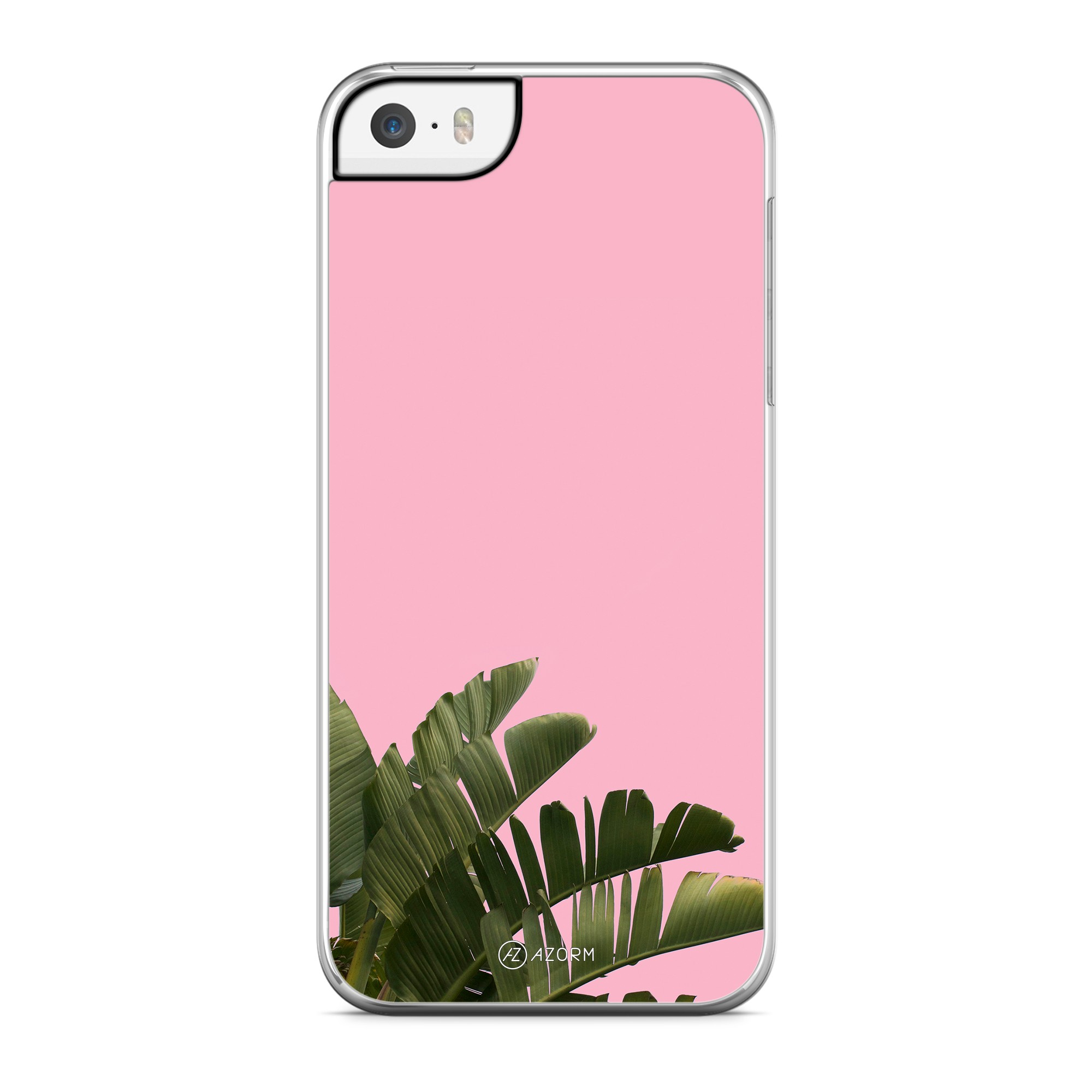 Coque Pop Palmier Rose