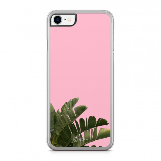Coque iPhone 7 Pop Palmier Rose