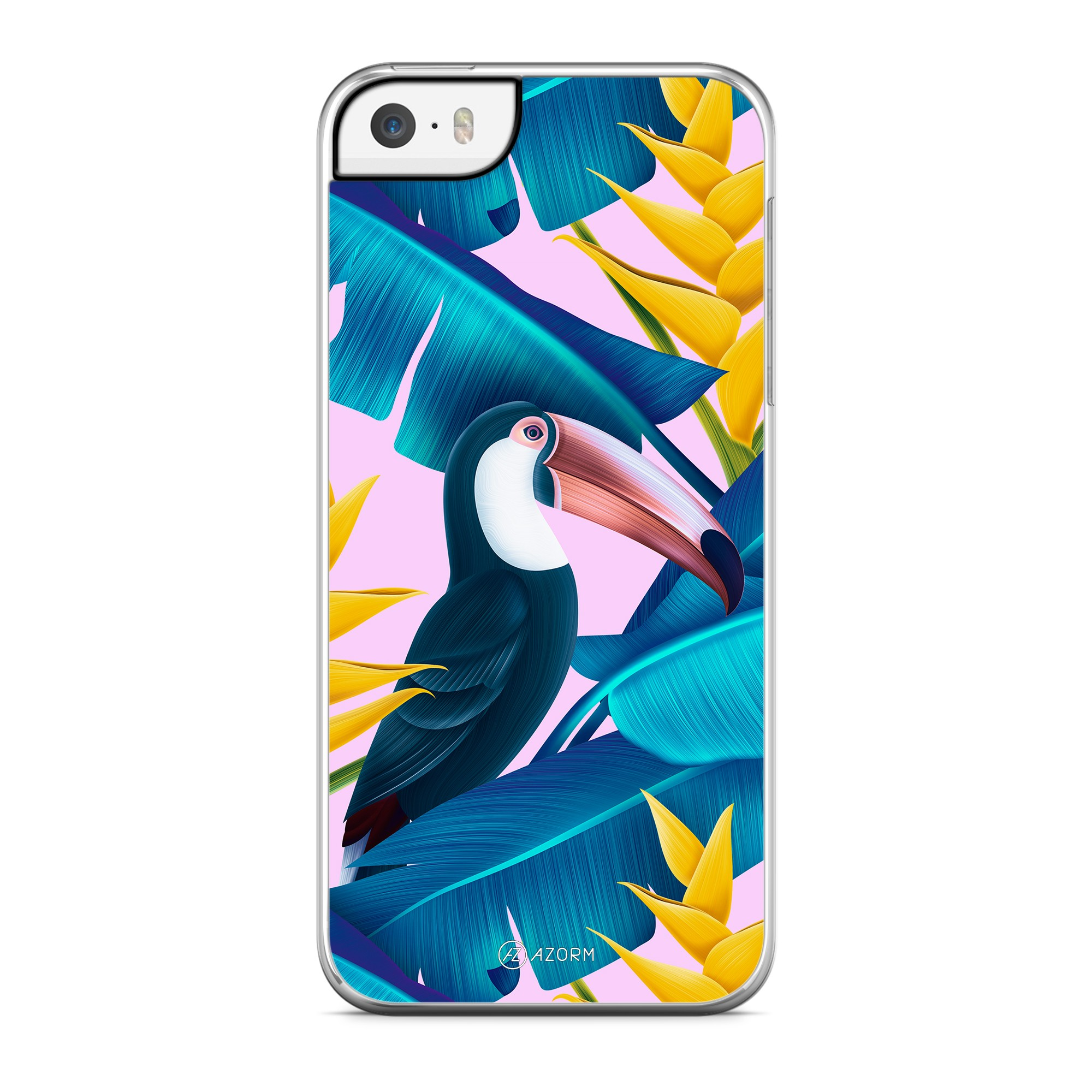 Coque Tropical Pelican Rose