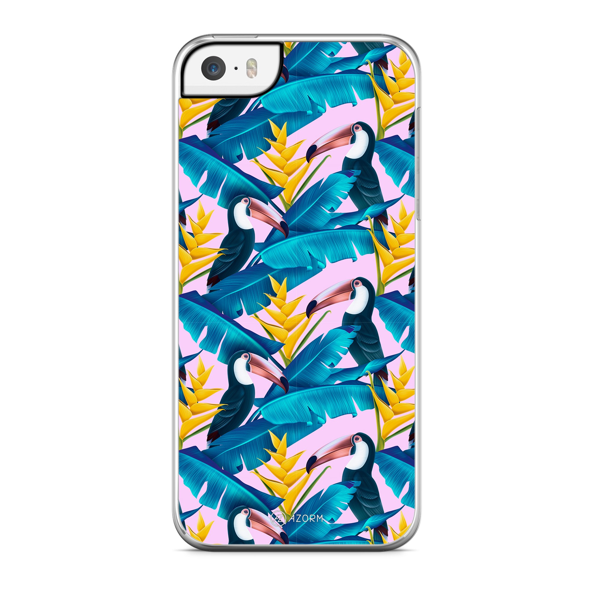 Coque Tropical Little Pelican Rose