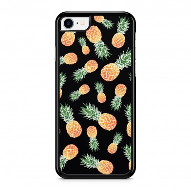 Coque iPhone 5/5S/SE Sweet Little Ananas Noir