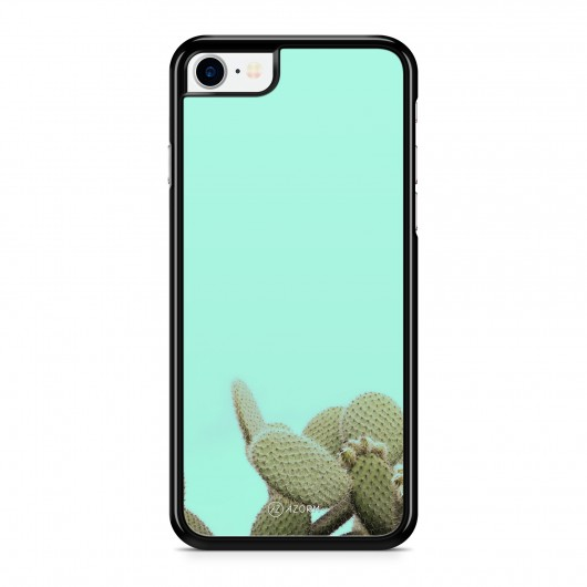 Coque iPhone 7 Pop Cactus Vert