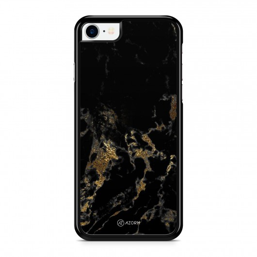coque iphone 7 plus marbre noir