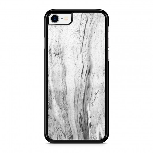 Coque iPhone 7 Marbre Classic Blanc