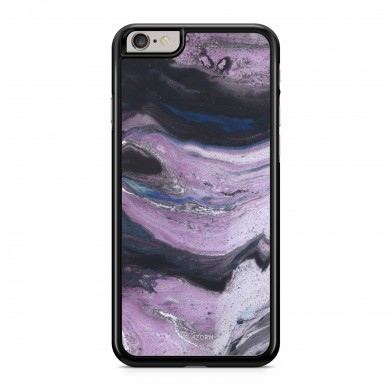 Coque iPhone 5/5S/SE Marbre Exotic Violet