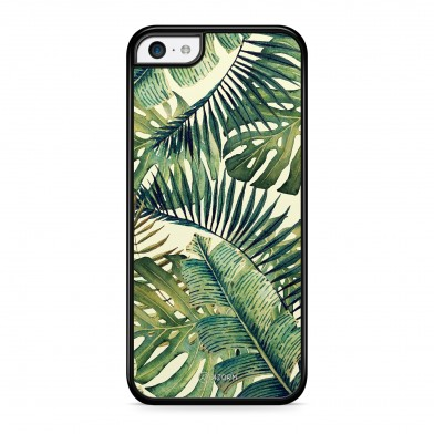 Coque iPhone 5/5S/SE Tropical Forest Vert