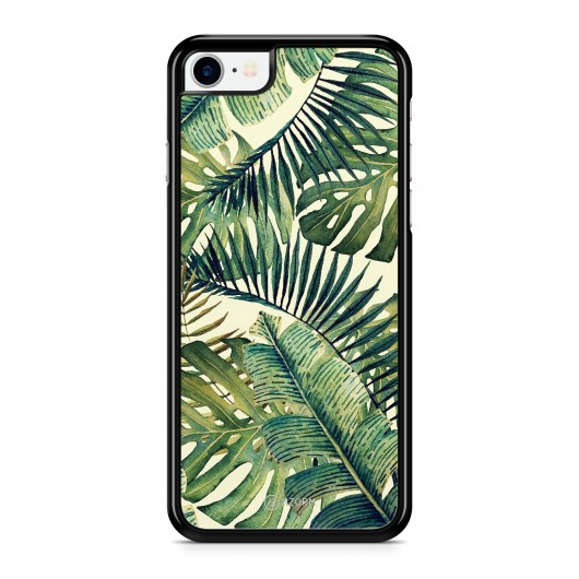 Coque iPhone 7 Tropical Forest Vert