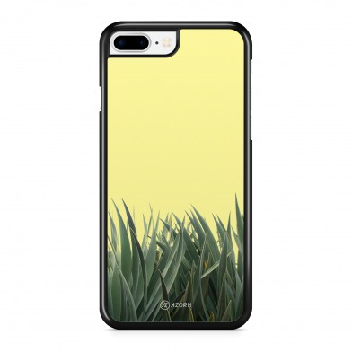 Coque iPhone 5/5S/SE Pop Feuillage Jaune