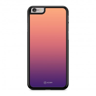 Coque iPhone 5/5S/SE Dégradé Sunset Orange Violet