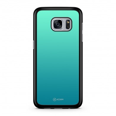 Coque iPhone 5/5S/SE Dégradé Sea Light Turquoise