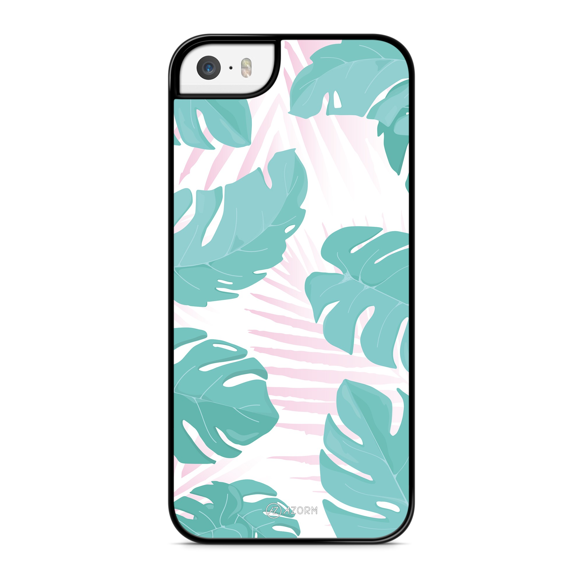 Coque Tropical Summer Rose Turquoise