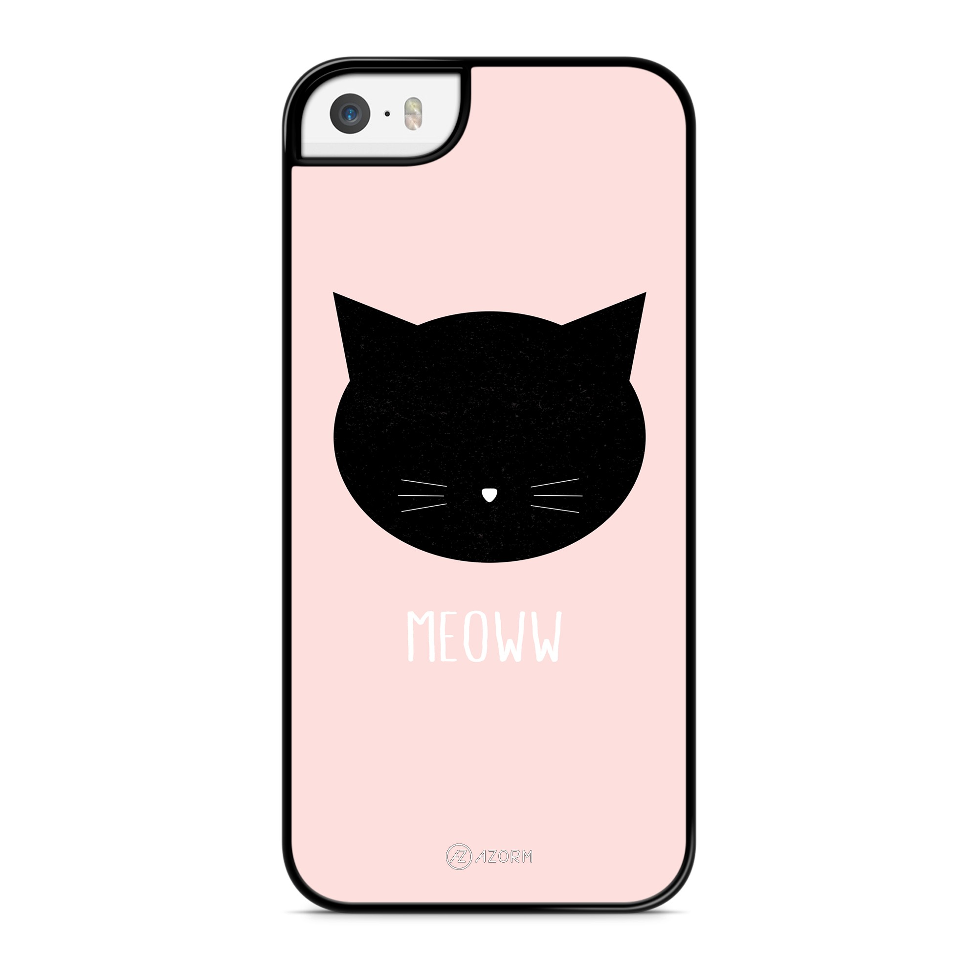 Coque Chat Meoww Rose