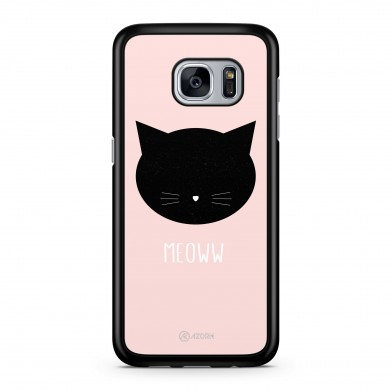 Coque iPhone 5/5S/SE Chat Meoww Rose