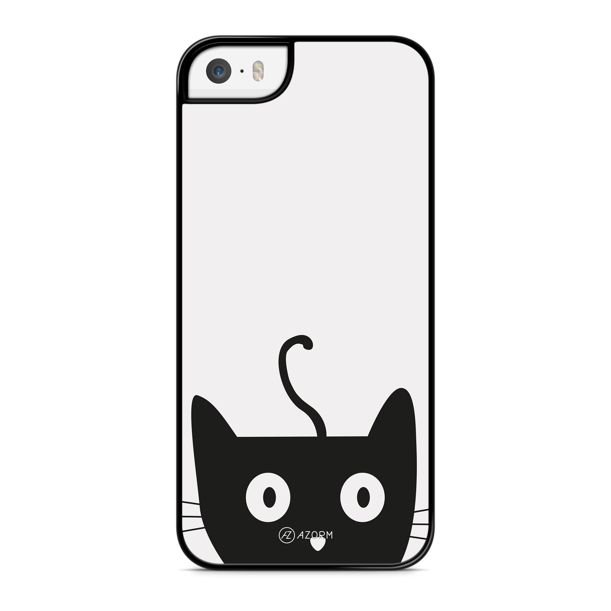 Coque Chat Cute Gris