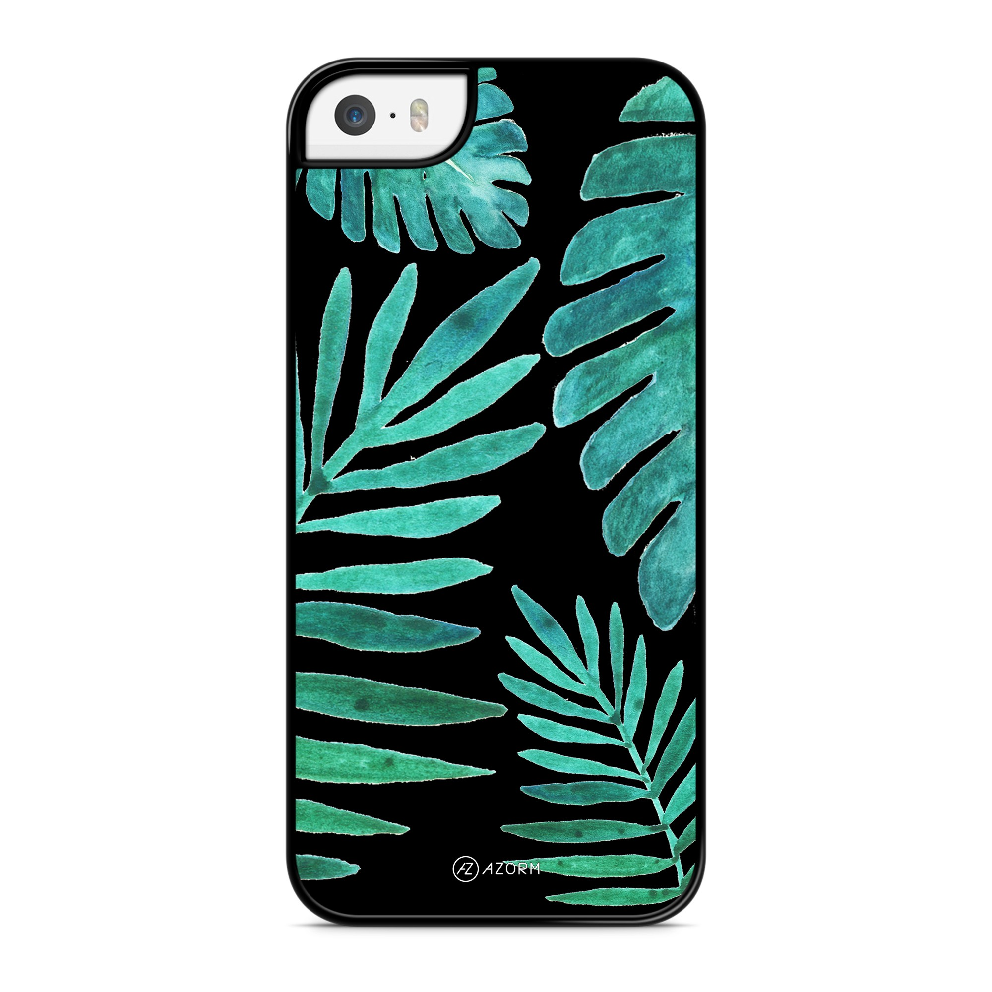 Coque Tropical Night Vert Noir