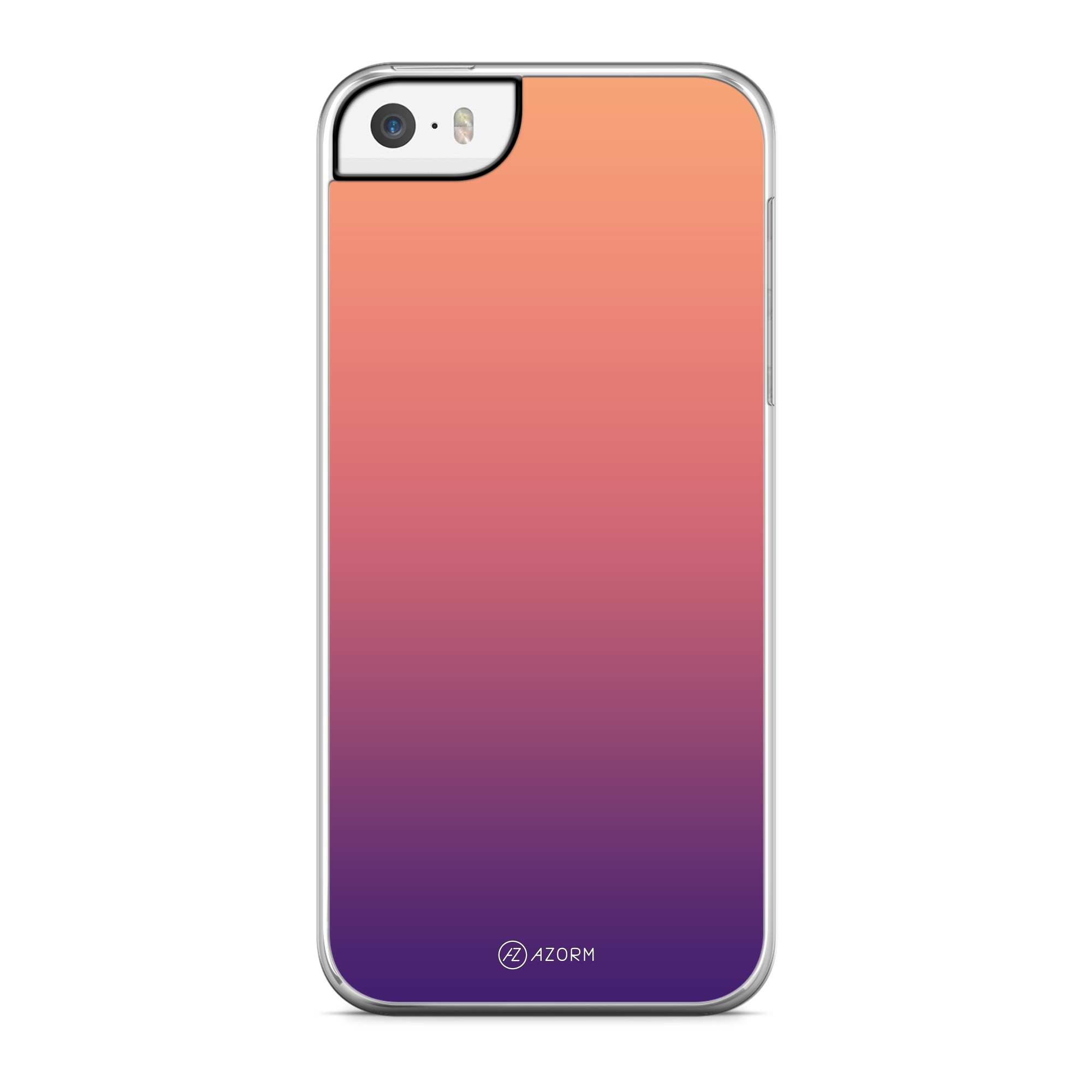 Coque Dégradé Sunset Orange Violet
