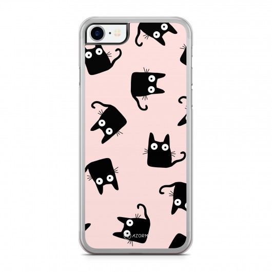 Coque iPhone 7 Chat Shadow Rose