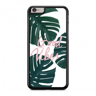 Coque iPhone 7 Tropical Good Vibes Rose Vert