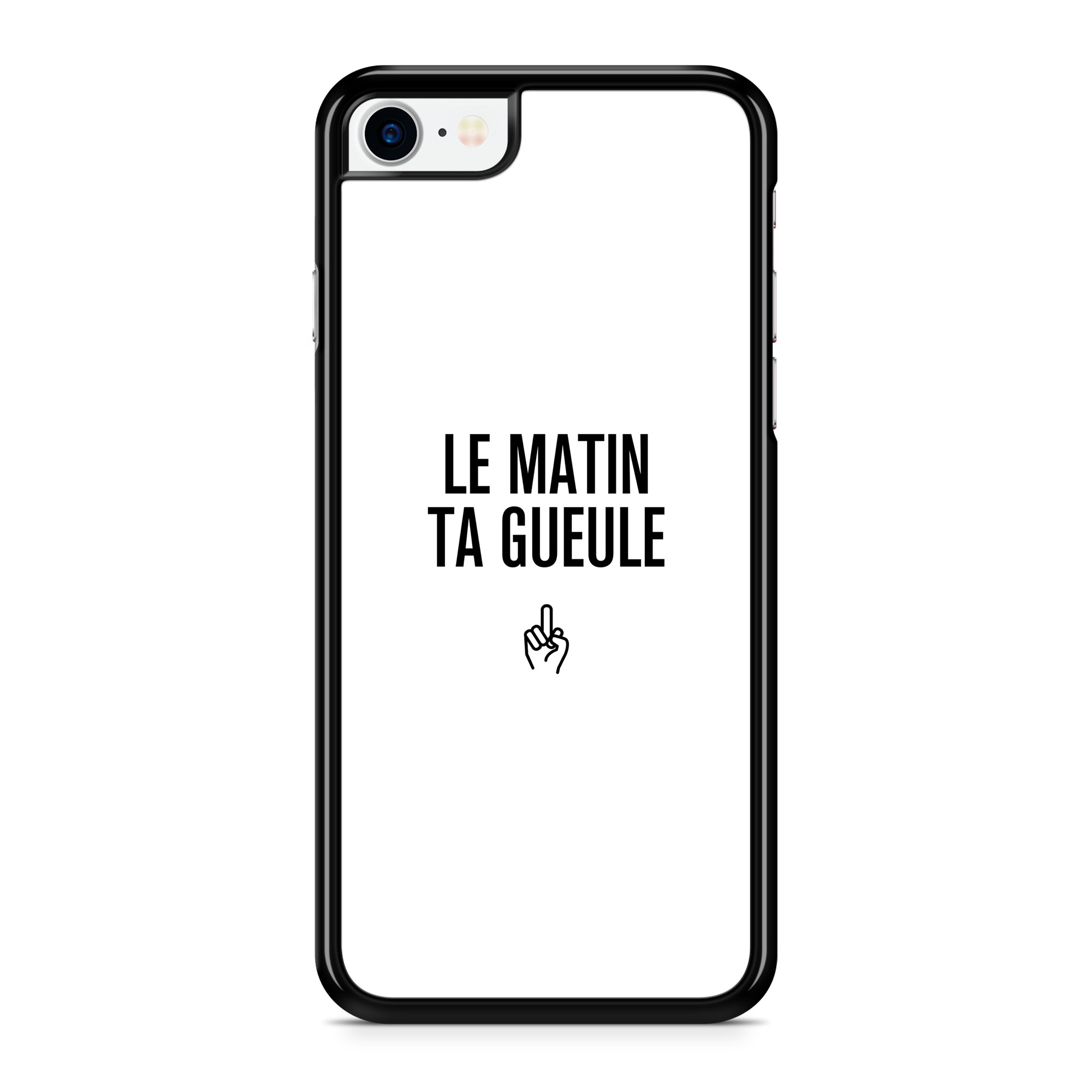 Coque Message Le Matin