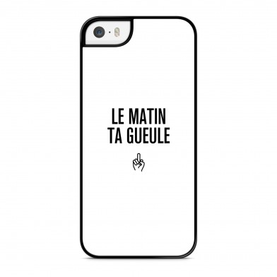 Coque iPhone 7 Message Le Matin