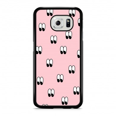Coque iPhone 7 Wonder Eyes Rose