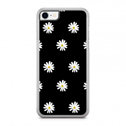 Coque iPhone 7 Little Marguerite Noir