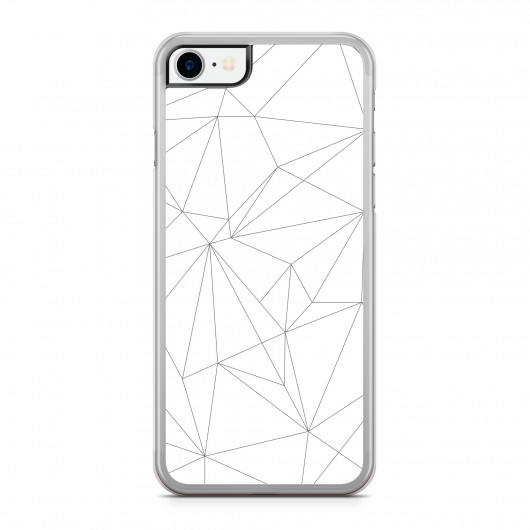 Coque iPhone 7 Graphic Lines Noir