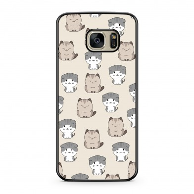 Coque iPhone 5/5s/SE Chat Cute Beige