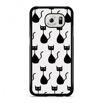 Coque iPhone 5/5s/SE Little Chat Strange Noir