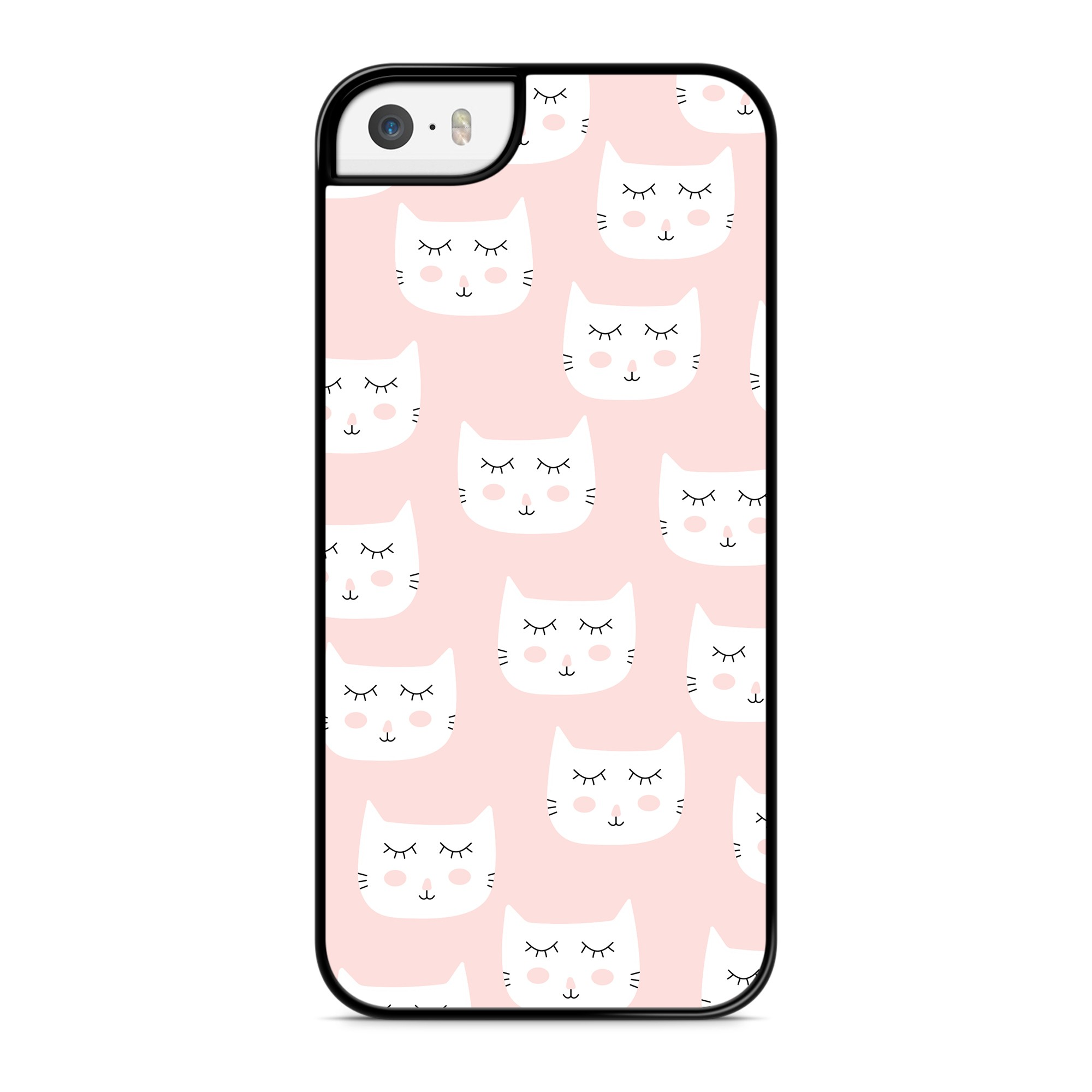 Coque Chat Cute Rose