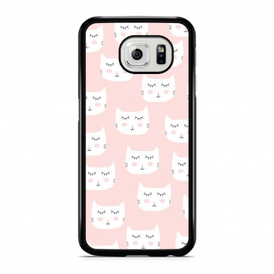 Coque iPhone 5/5s/SE Chat Cute Rose