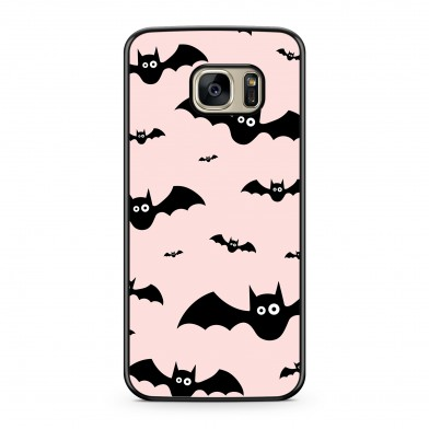 Coque iPhone 5/5s/SE Bat Rose Noir