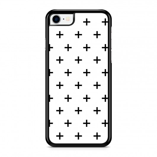 Coque iPhone 7 Cross Noir
