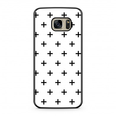 Coque iPhone 5/5s/SE Cross Noir