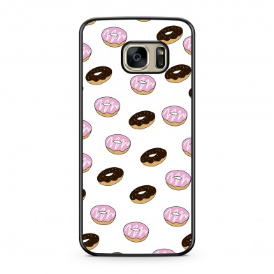 Coque iPhone 5/5s/SE Donuts Rose