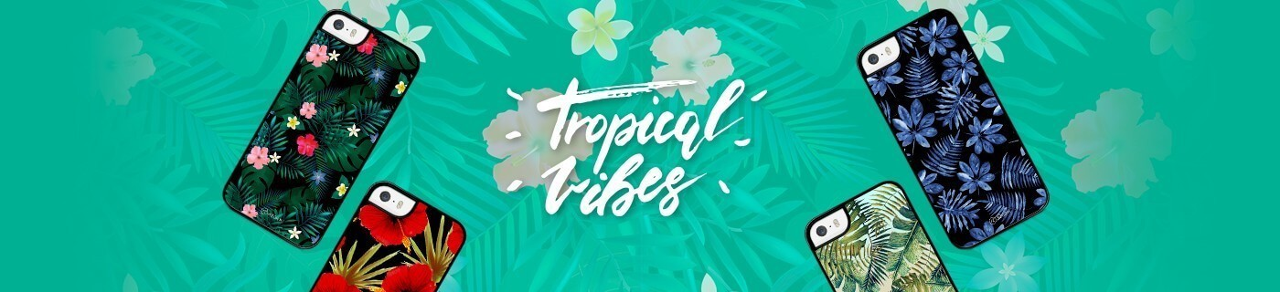 Coques iPhone 5c Tropical